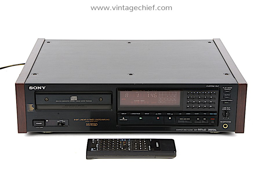 Sony CDP-557ESD CD Player
