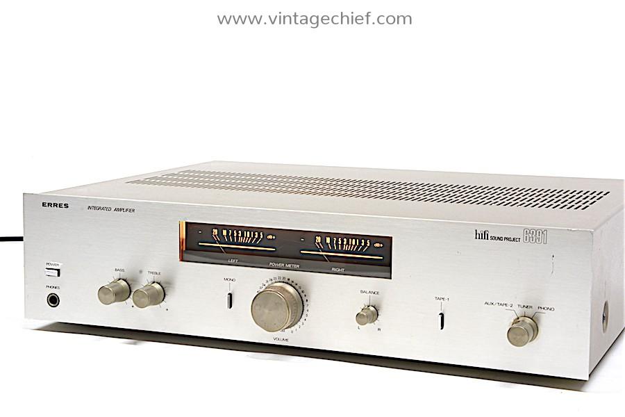 Erres Hifi Sound Project 6391 Amplifier