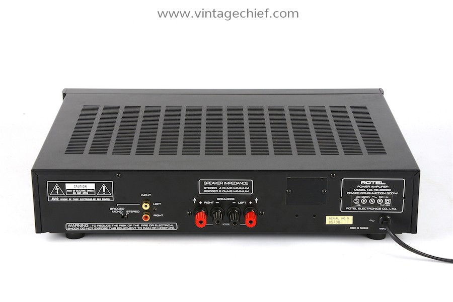Rotel RB-960BX Power Amplifier