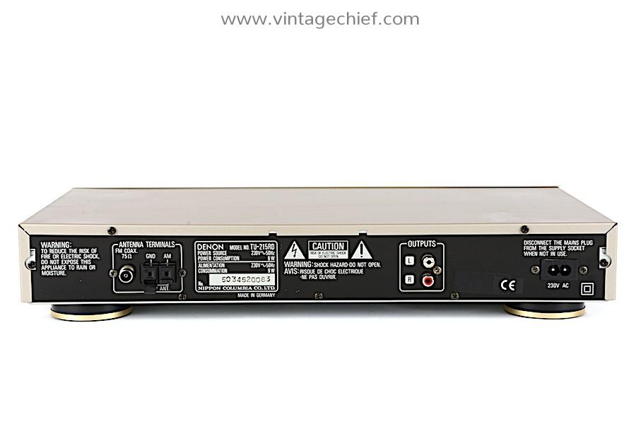 Denon TU-215RD FM / AM Tuner