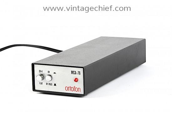 Ortofon MCA-76 MC Phono Preamplifier