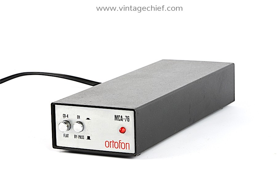 Ortofon MCA-76 MC Phono Preamplifier