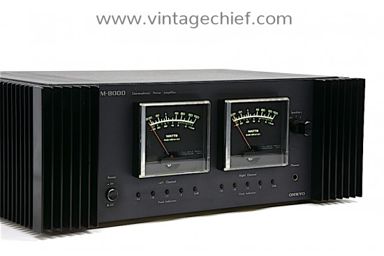 Onkyo M-8000 Power Amplifier