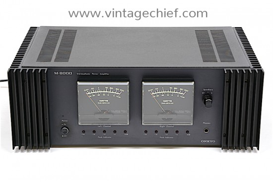 Onkyo M-8000 Power Amplifier