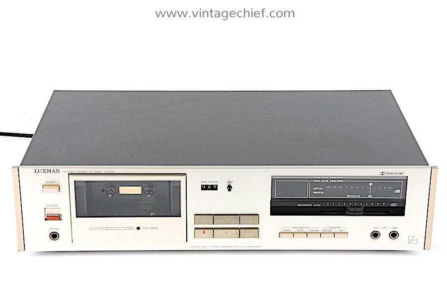 Luxman K-210 Cassette Deck