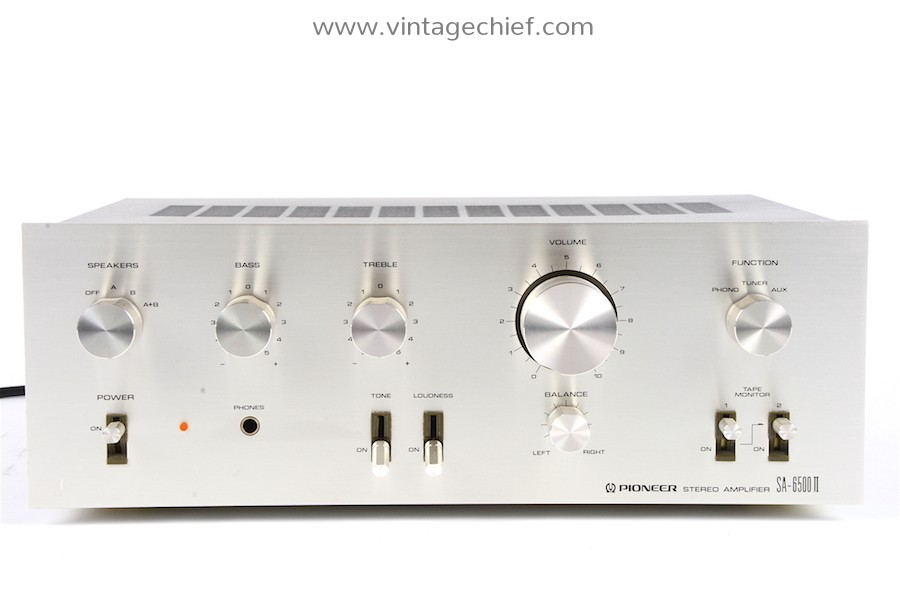 Pioneer SA-6500 II Amplifier