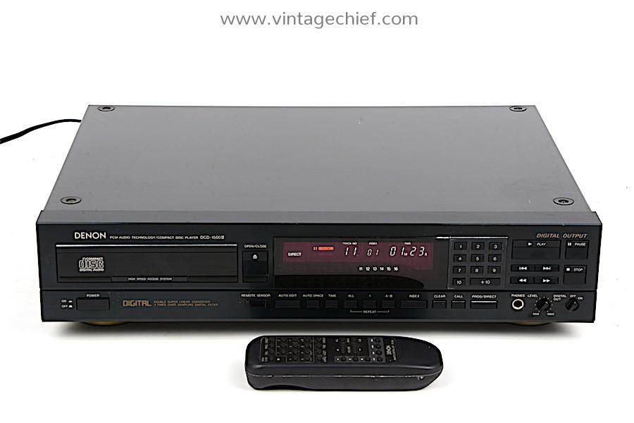 Denon DCD-1500 II CD Player