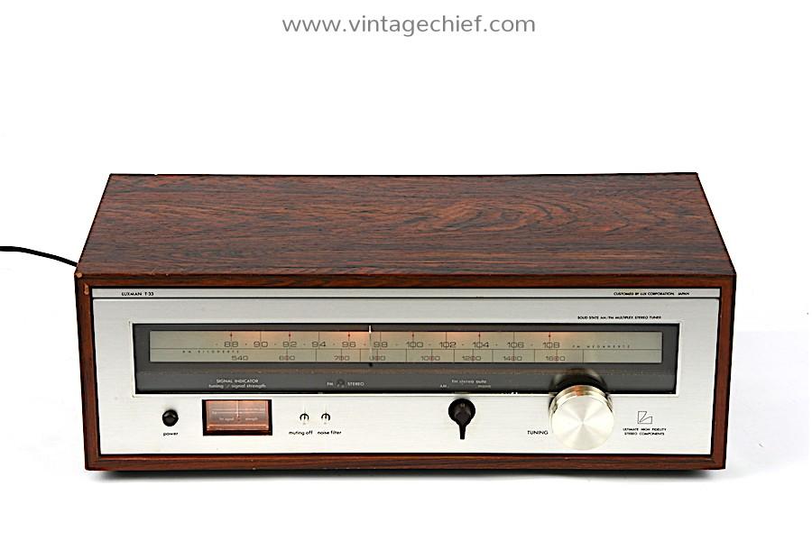 Luxman T-33 FM / AM Tuner