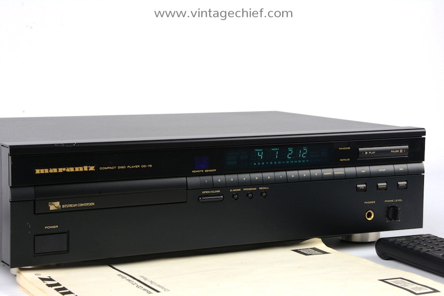 Marantz CD-72 CD Player