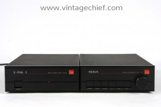 Ion Systems Nexus SP1 Preamplifier + X-Pak 2 Power Supply