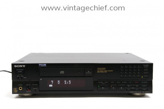 Sony CDP-X222ES CD Player