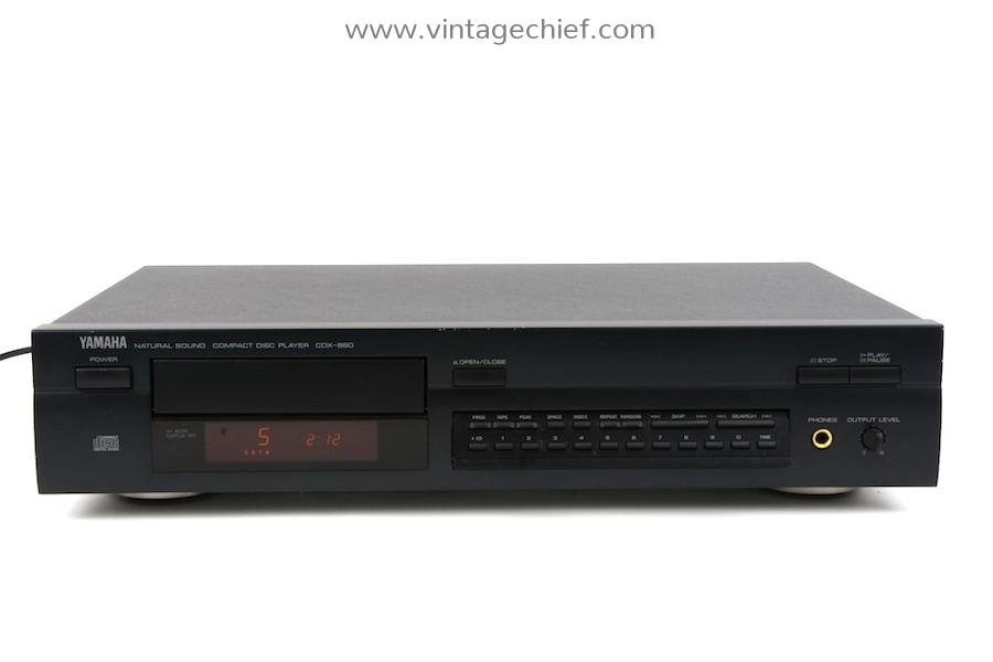 Yamaha CDX-880 CD Player
