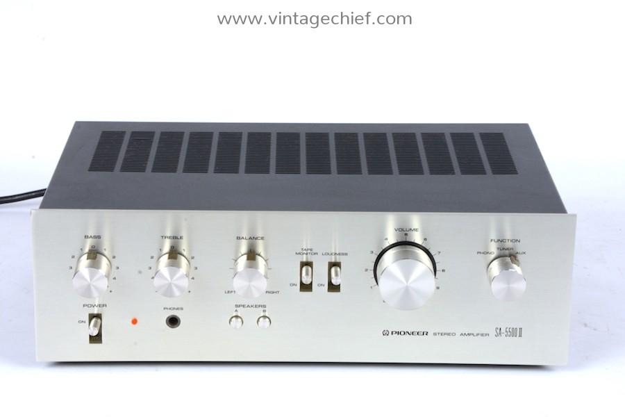 Pioneer SA-5500 II Amplifier
