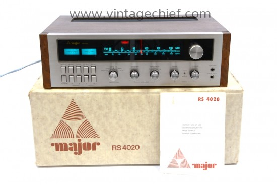 Major RS 4020 Receiver