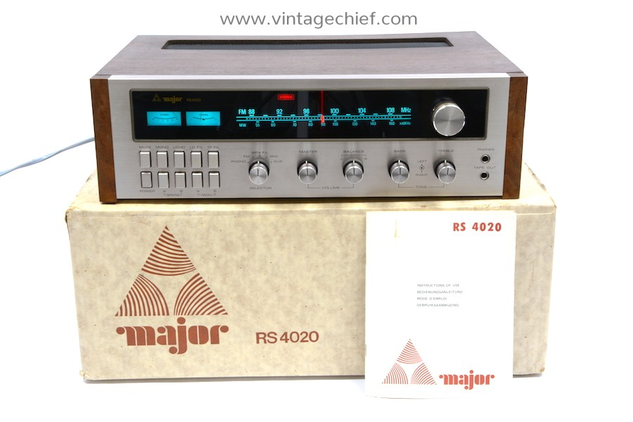 Major RS 4020 Receiver