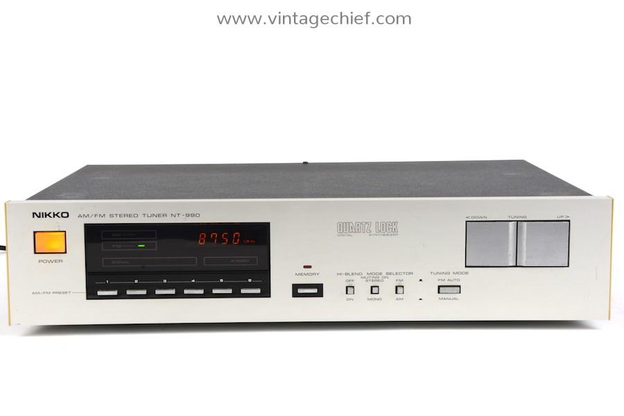 Nikko NT-990 FM / AM Tuner