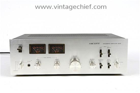 Scott 420A Amplifier