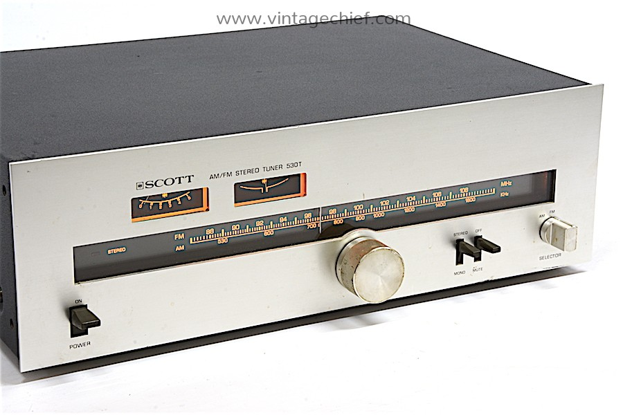 Scott 530T FM / AM Tuner