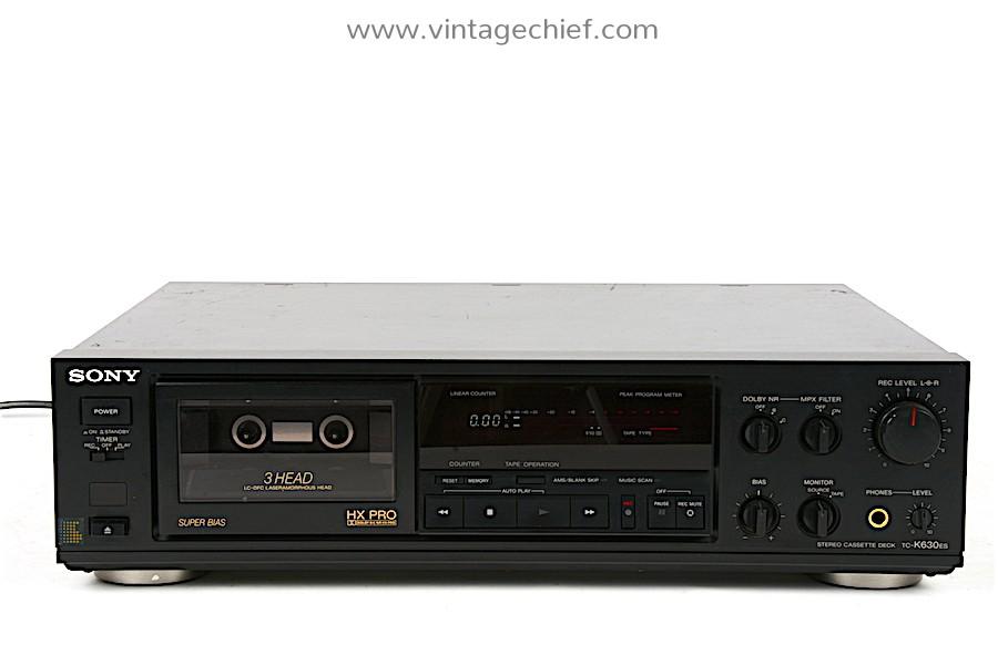 Sony TC-K630ES Cassette Deck