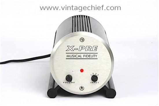 Musical Fidelity X-Pre Tube Preamplifier