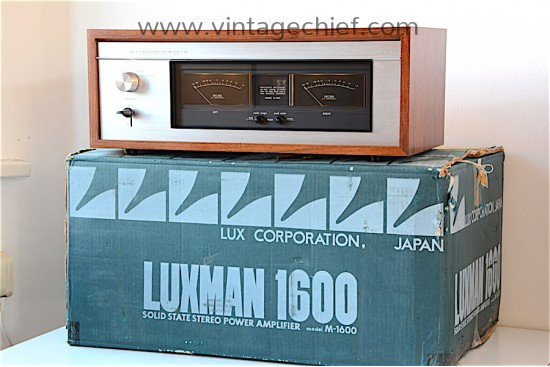 Luxman M-1600 Power Amplifier