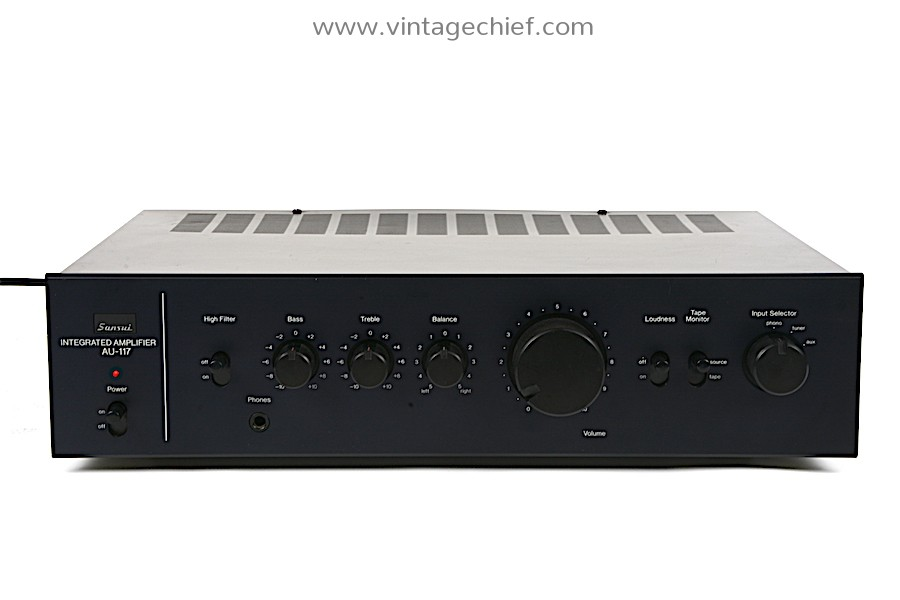 Sansui AU-117 Amplifier