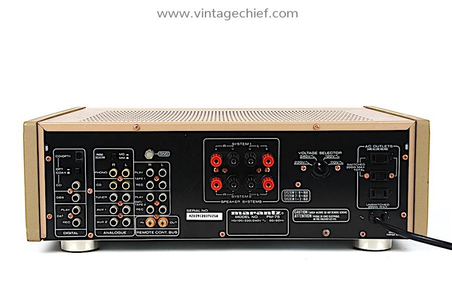 Marantz PM-75 Amplifier (with built-in DAC)