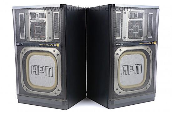 Sony APM-D9 Speakers