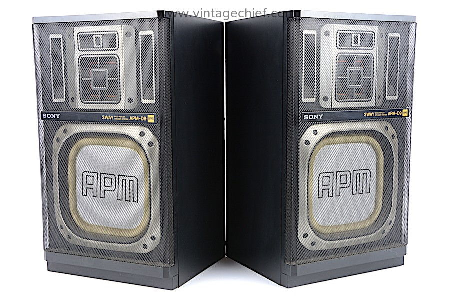 Sony APM-D9 Speakers