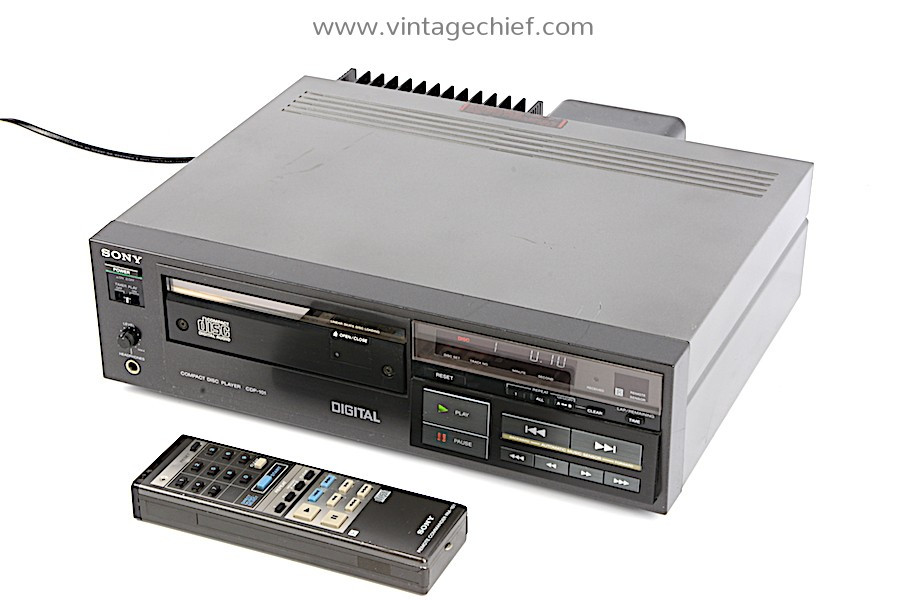 Sony CDP-101 CD Player
