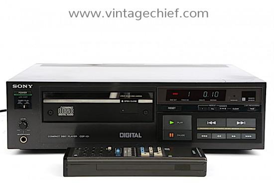 Sony CDP-101 CD Player