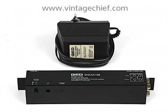 QED Discsaver MM Phono Preamplifier