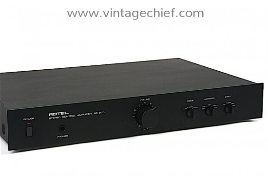 Rotel RC-870 Preamplifier
