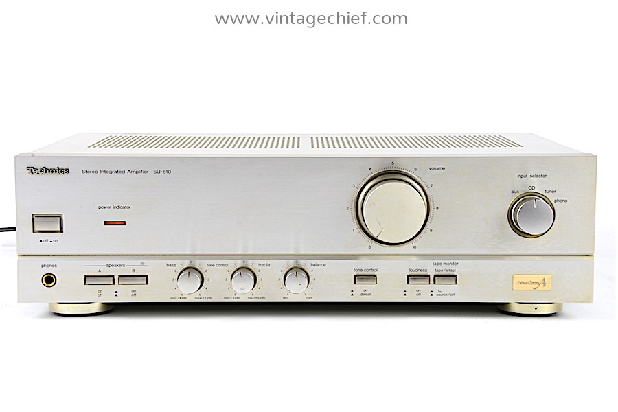 Technics SU-610 Amplifier