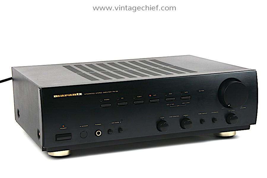 Marantz PM-53 Amplifier