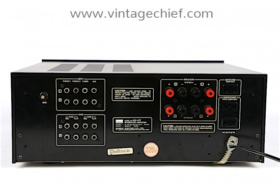 Sansui AU-417 Amplifier