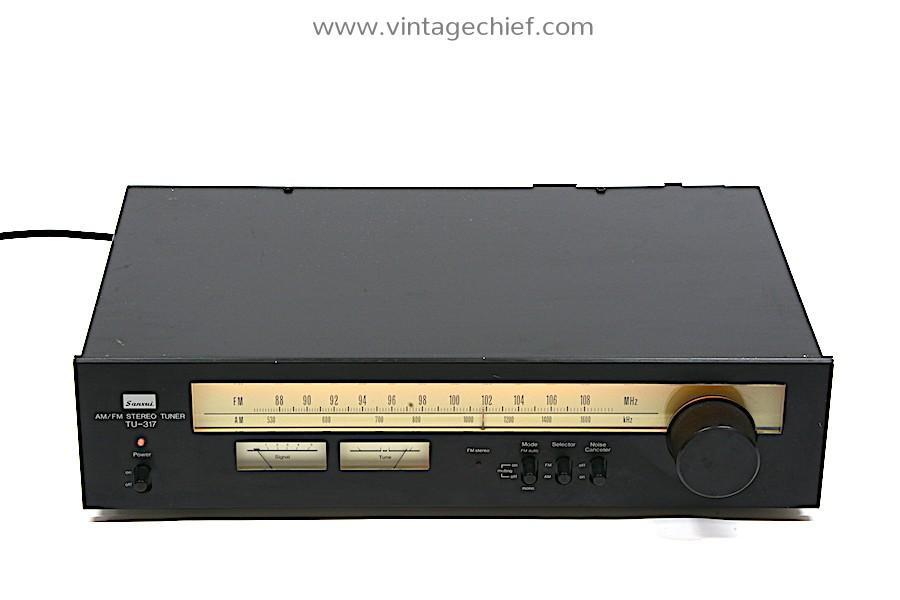 Sansui TU-317 FM / AM Tuner