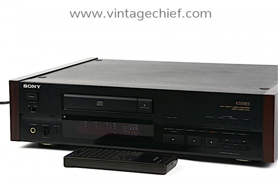 Sony CDP-X559ES CD Player