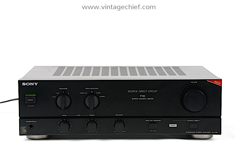 Sony TA-F110 Amplifier