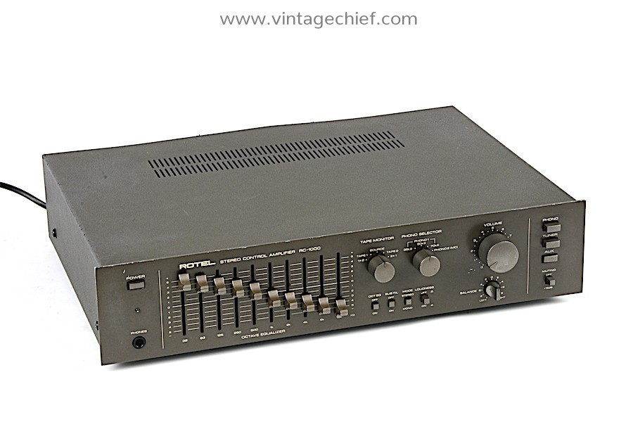 Rotel RC-1000 Preamplifier
