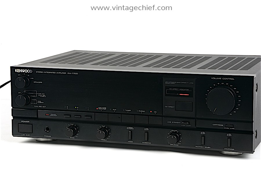 Kenwood KA-770D Amplifier