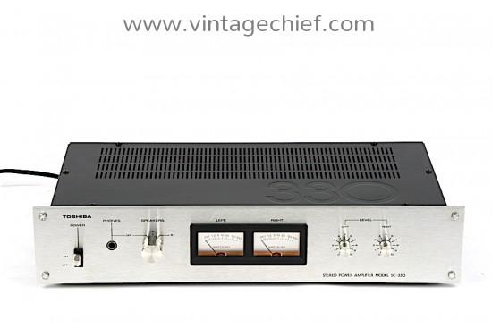 Toshiba SC-330 Power Amplifier