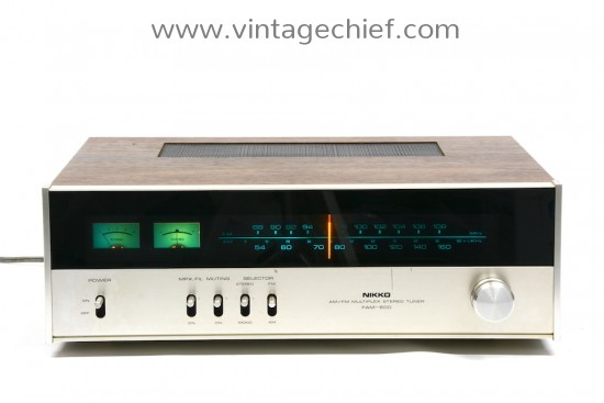 Nikko FAM-500 FM / AM Tuner