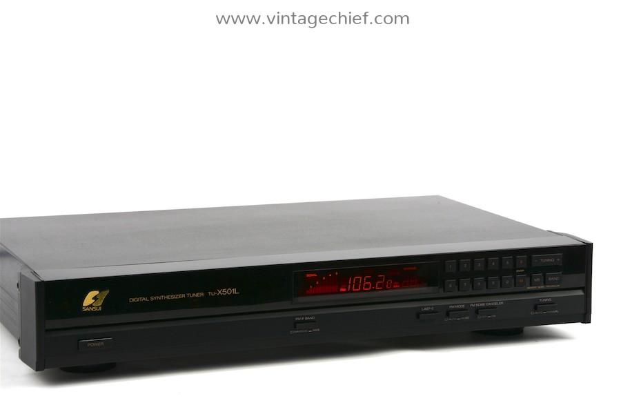 Sansui TU-X501L FM / AM / LW Tuner