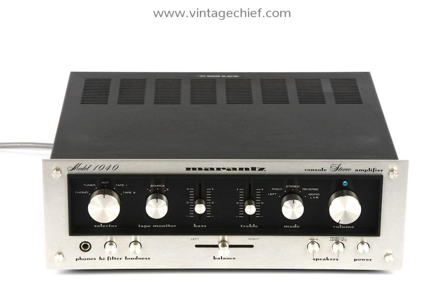 Marantz Model 1040 Amplifier