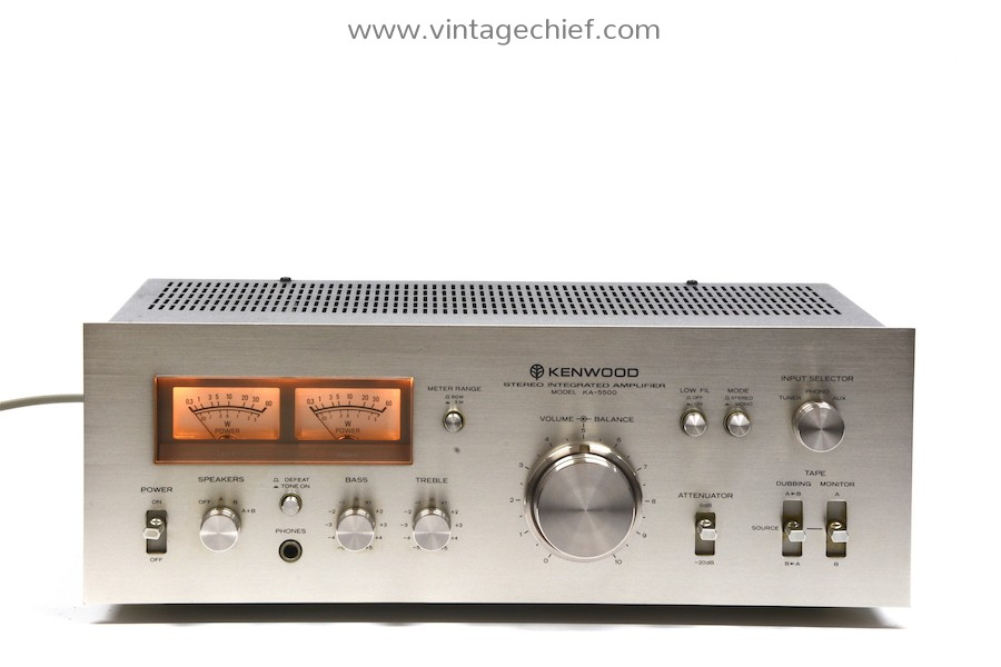 Kenwood KA-5500 Amplifier