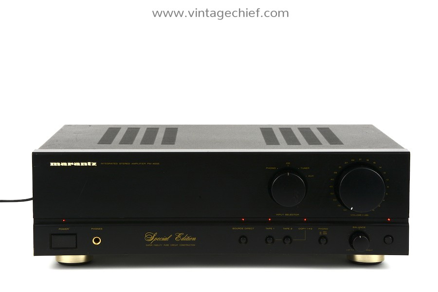 Marantz PM-40SE Special Edition Amplifier