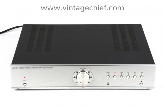 Musical Fidelity A3 Amplifier