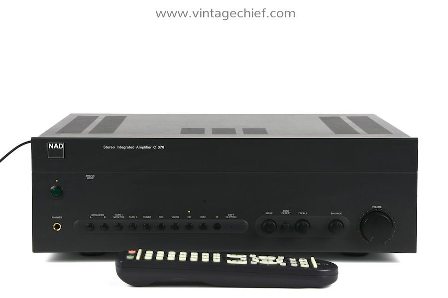 NAD C370 Amplifier