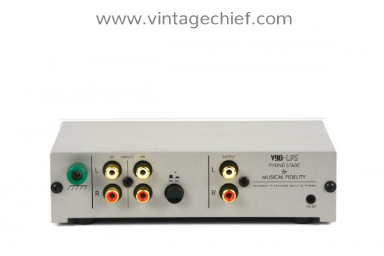 Musical Fidelity V90-LPS MM / MC Phono Preamplifier
